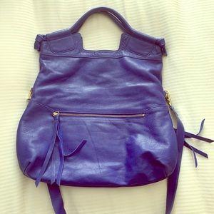 Brand New Foley and Corrina cobalt handbag purse
